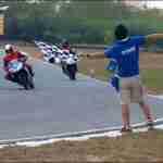 Yamaha riding clinic at Chennai India