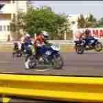 Yamaha riding clinic India