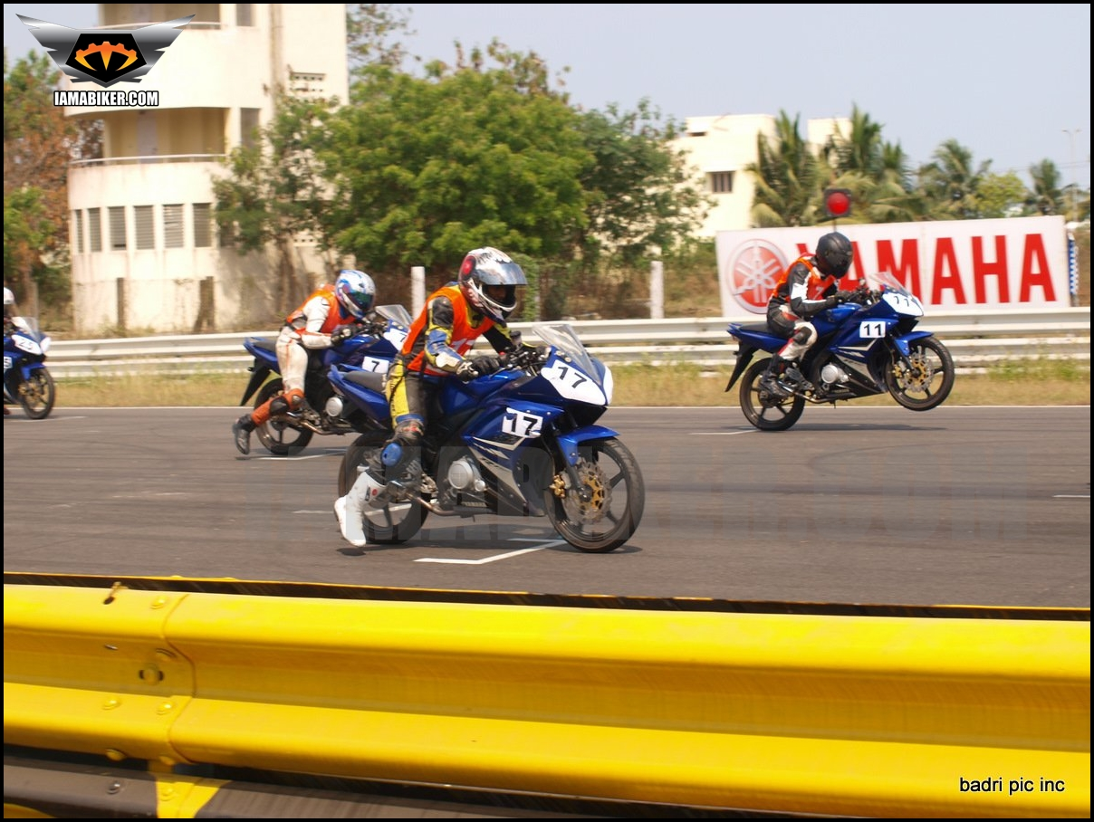 Yamaha riding clinic