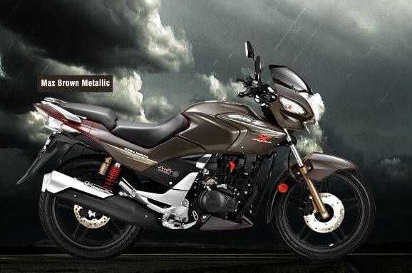 Hero CBZ Xtreme black metallic colour option