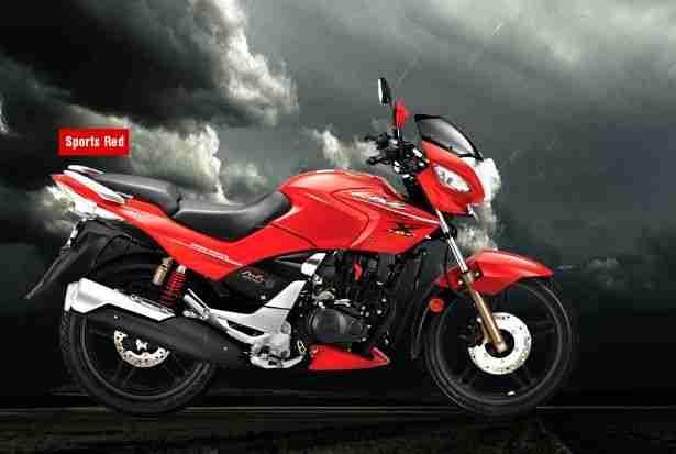 Hero CBZ Xtreme black metallic colour option