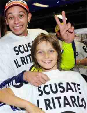 Luca Marini childhood photo