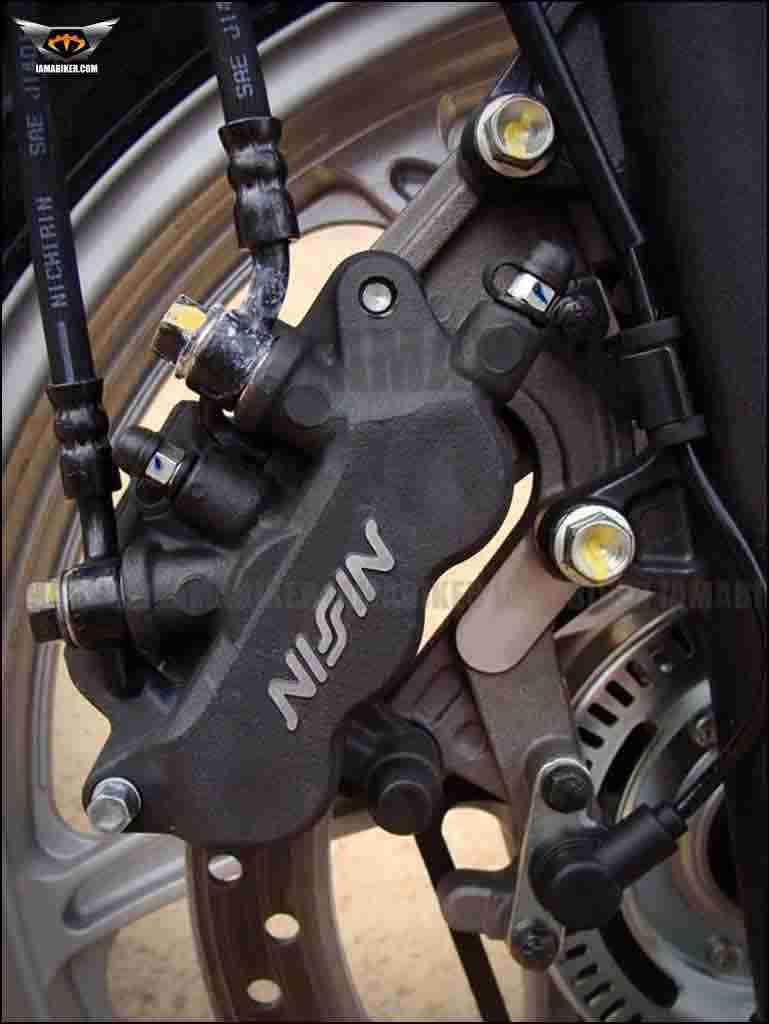 Honda CBR250R ABS calliper