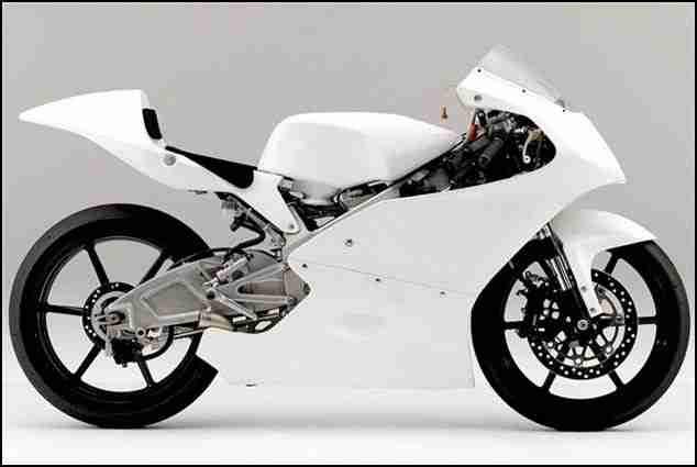 Honda Moto3 bike