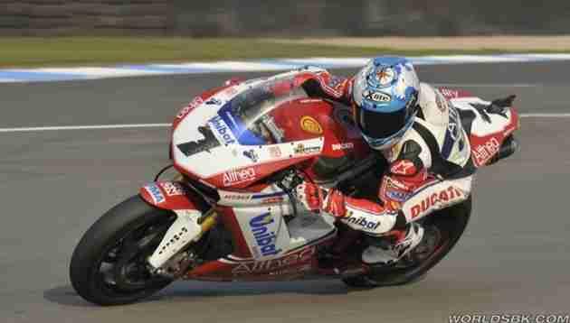 Carlos Checa fastest in Misano testing