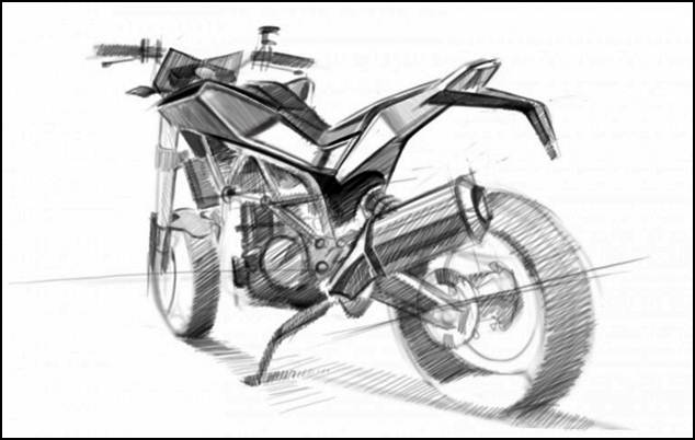 Husqvarna 900cc street bike