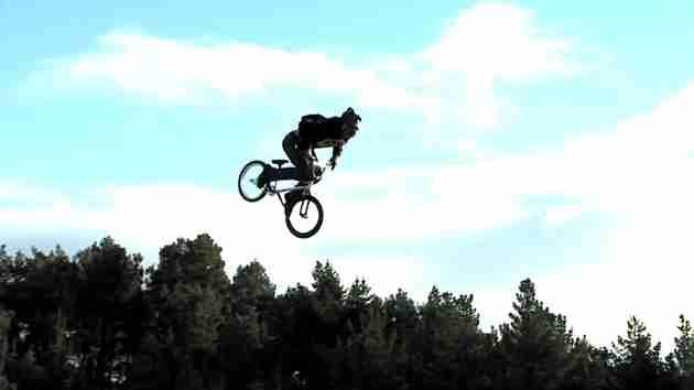 BMX Triple Back-flip