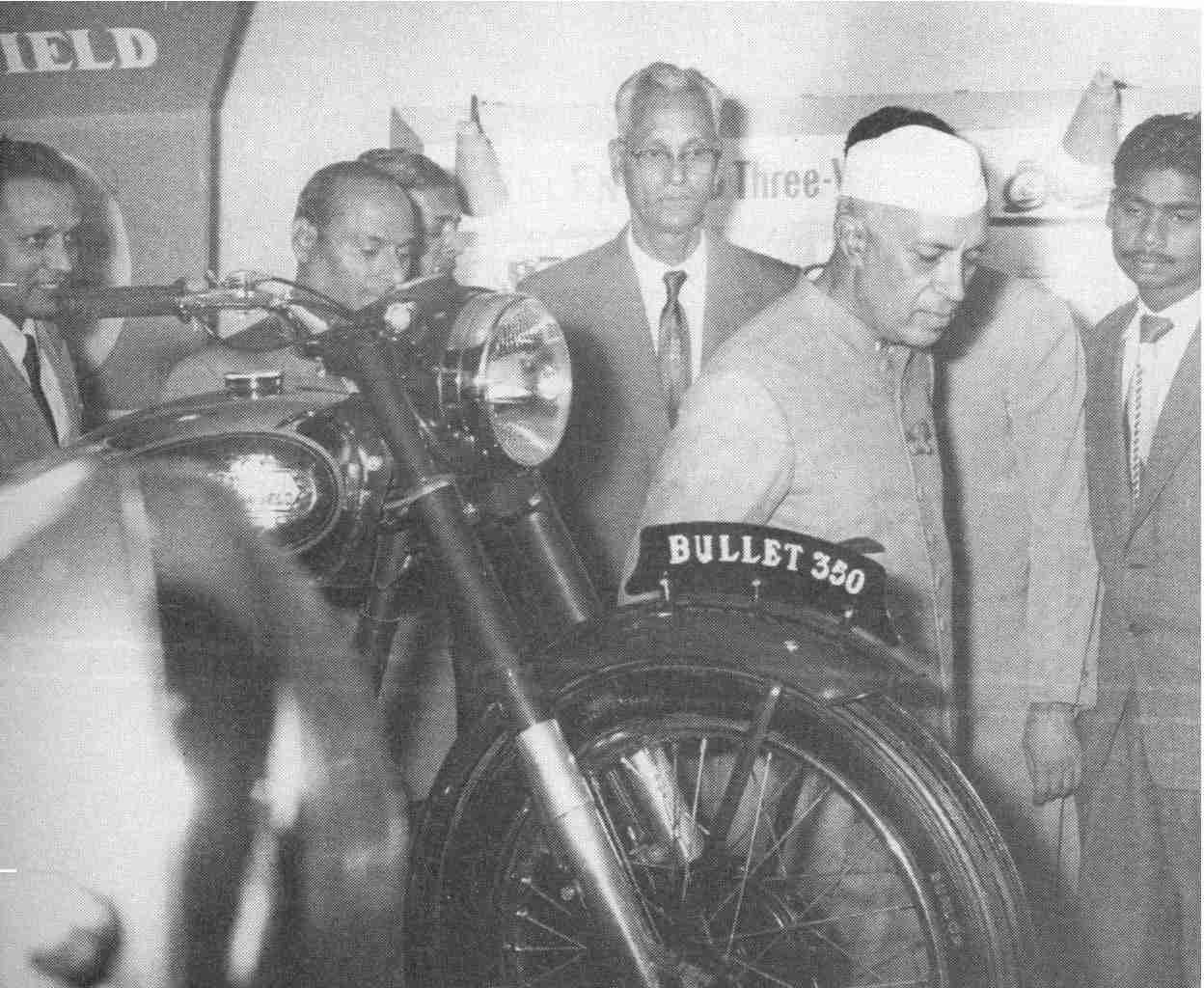 Royal Enfield and Jawaharlal Nehru