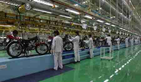 hero honda factory