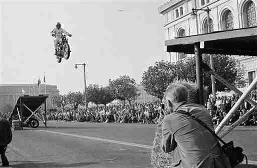 New Evel Knievel movie