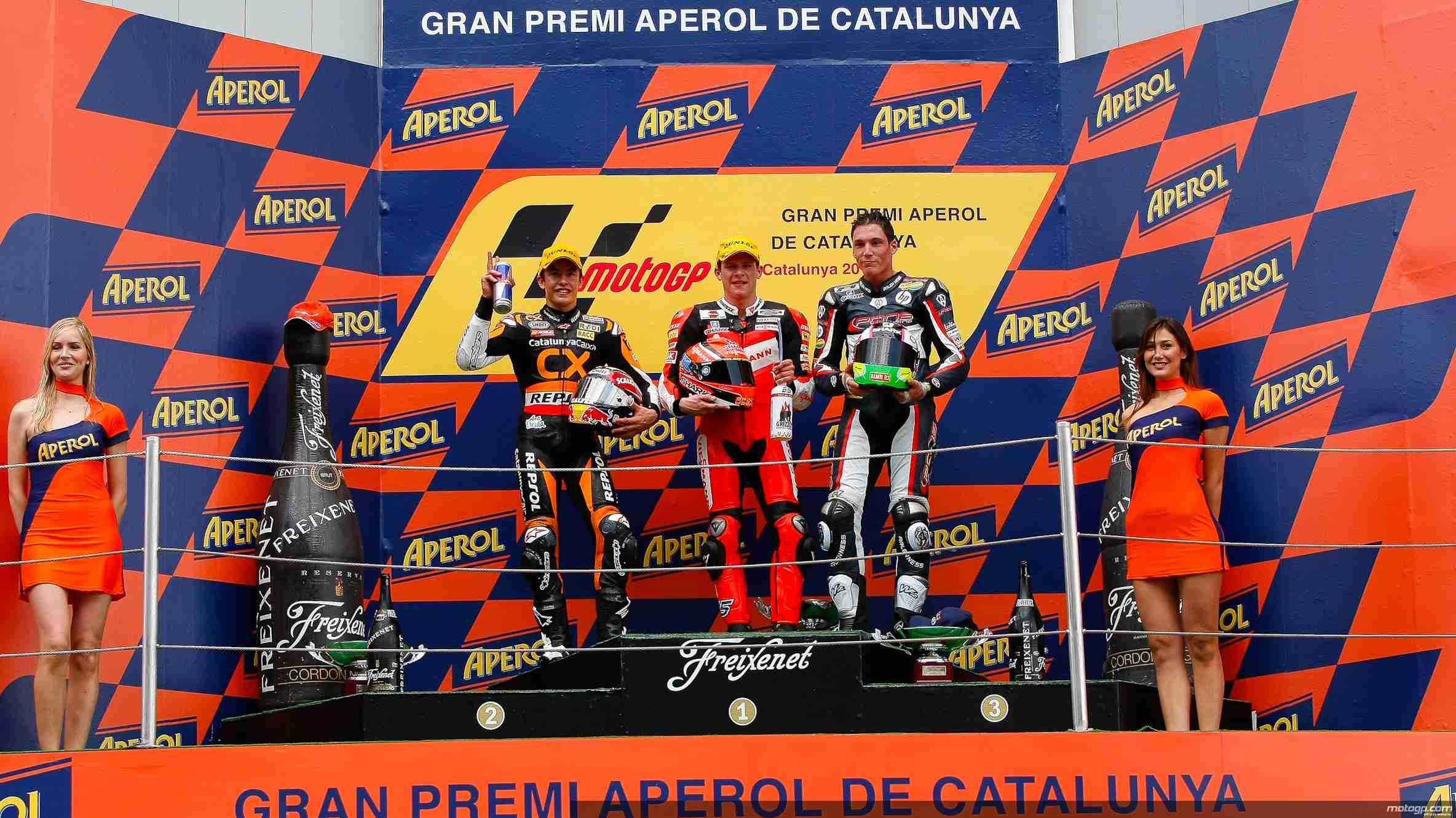 Moto2 Catalunya Grand Prix Results