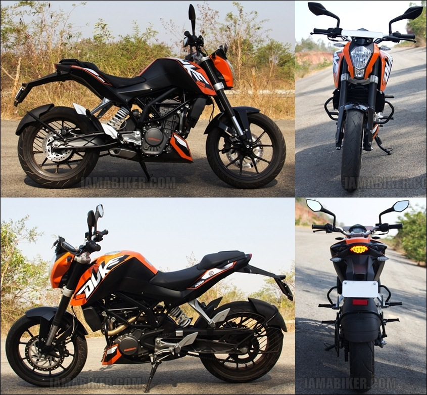 KTM Duke 200 review 360 view KTM Duke 200 Review