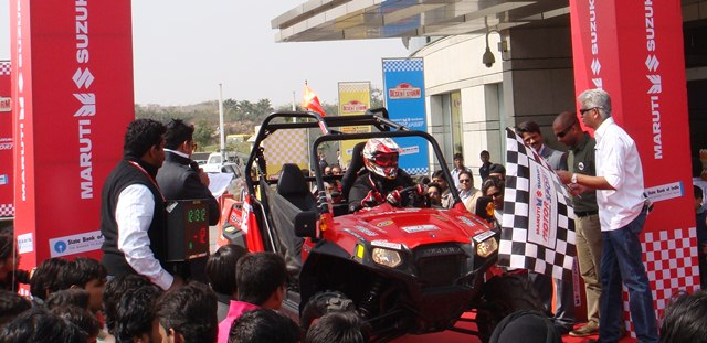 Polaris India conquers the Desert Storm Rally 2012 Polaris India conquers the Desert Storm Rally 2012