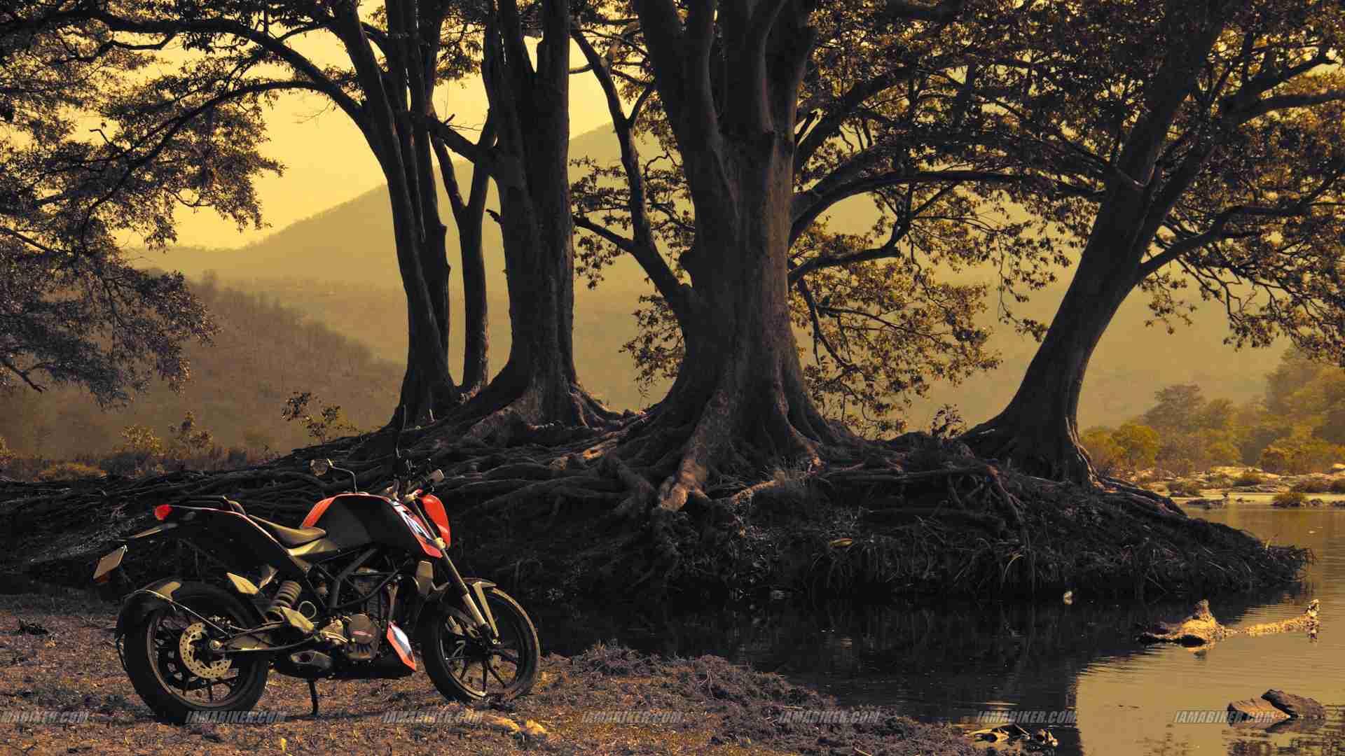 Ktm rc 200 bike full hd wallpaper
