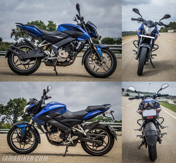 p200 ns review look and feel Pulsar 200NS review road test