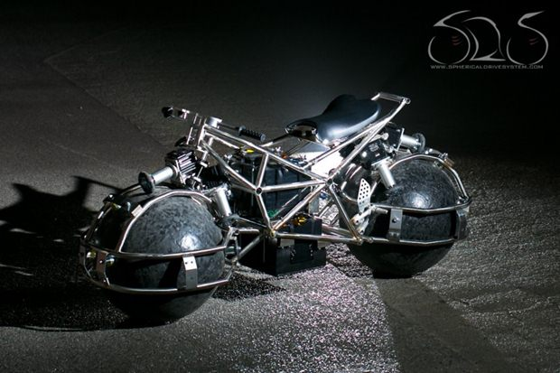 Spherical Drive System motorcycle Spherical Drive System motorcycle