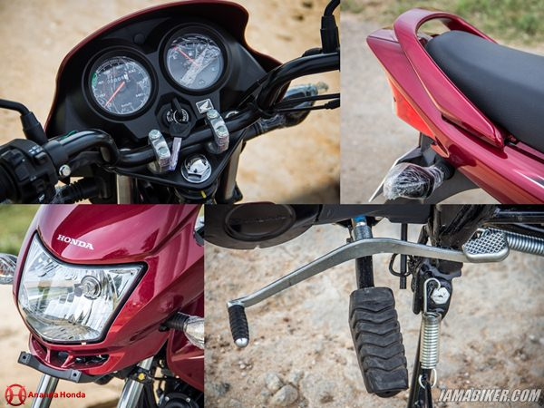 Dream Yuga accessories and key features Honda Dream Yuga review