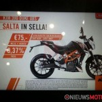 ktm duke 390 02 150x150 KTM Duke 390 first pictures and specifications