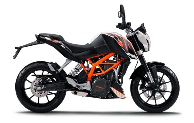 ktm duke 390 india KTM Duke 390 first pictures and specifications