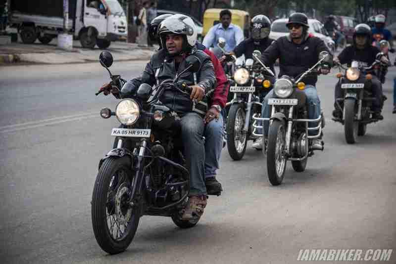 Bikerni Safety for Women ride - Bangalore