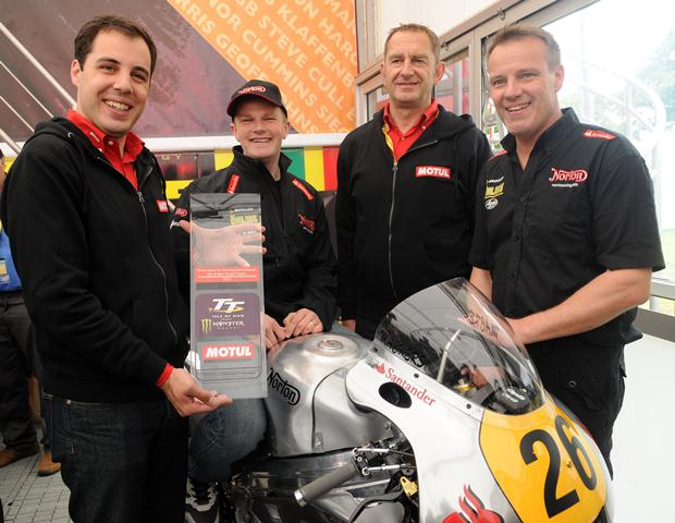 Dan Hegarty and Ian Mackman join Norton for TT 2013