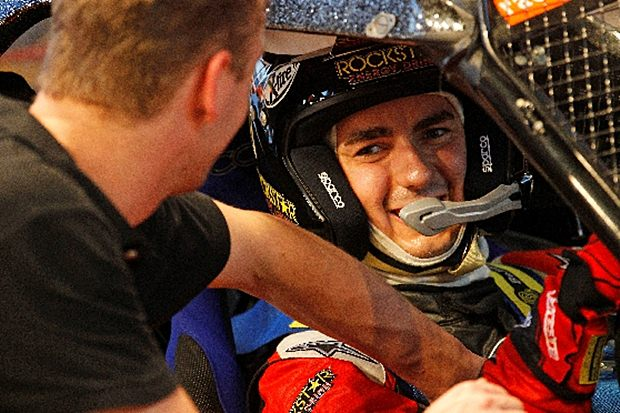 Lorenzo takes part in race of champions