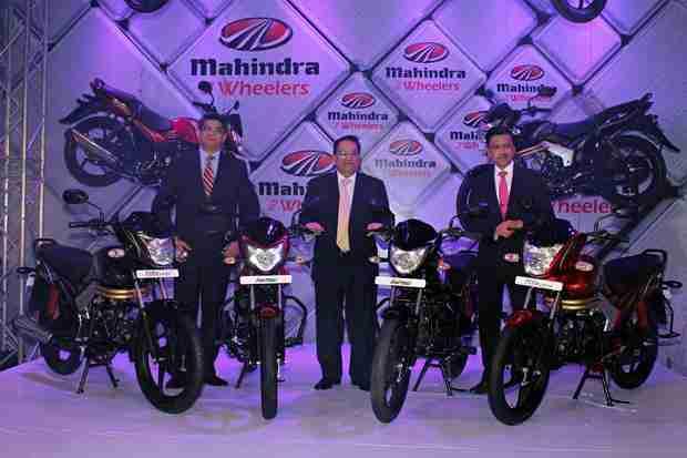 New Mahindra motorcycles Pantero and Centuro unveiled