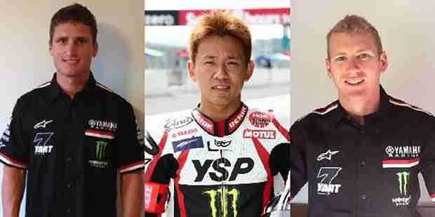 2013 Monster Energy Yamaha Austria World Endurance Line-Up