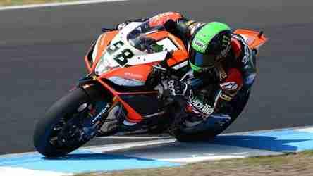 Report Wsbk  Round  Wsbk Race  Phillip Island