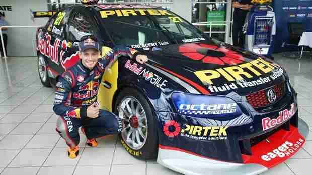 Casey Stoner at the Australian V8 Supercar Championship