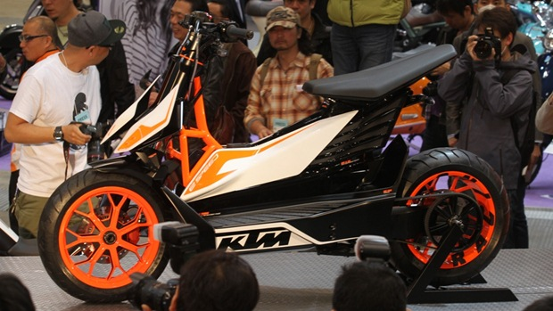 ktm e speed electric scooter