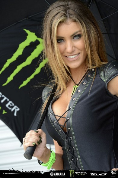 Pit crew gang bang grid girl
