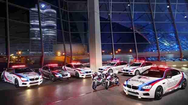 BMW M 15th season as Official Car of MotoGP