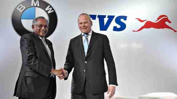 tvs bmw partnership