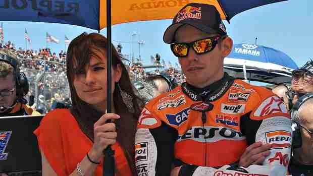 Casey Stoner MotoGP Motegi Test for Honda