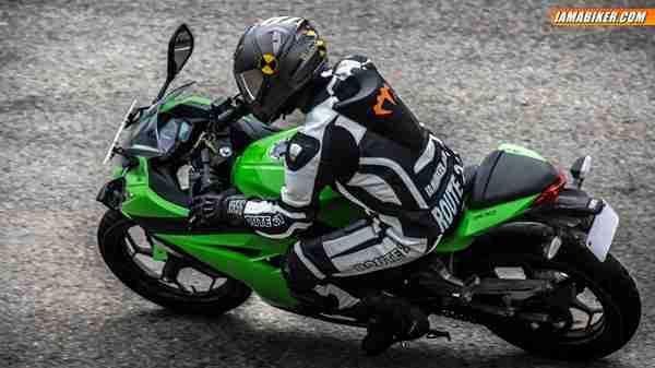 kawasaki ninja 300 review braking
