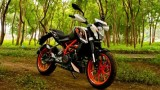 ktm duke 390 first ride