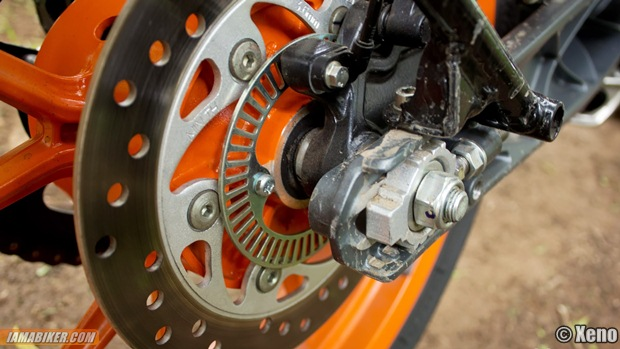 ktm duke 390 rear disc with abs ring