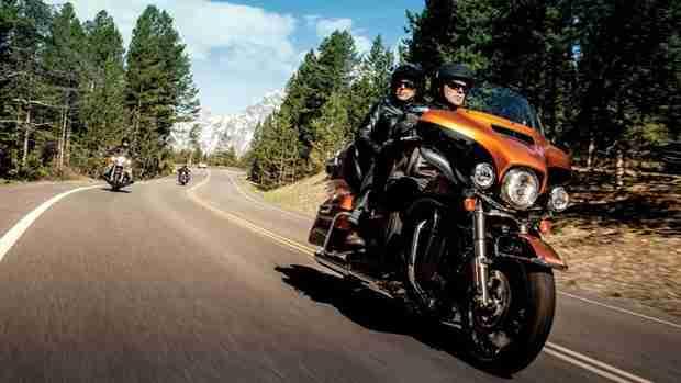 2014 Harley Davidson's break tradition