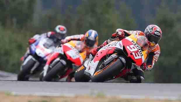 MotoGP Brno Marc Marquez makes it 4 in a row