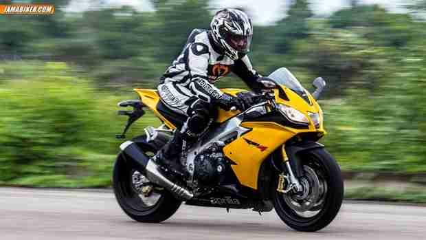 aprilia rsv4 r first ride review