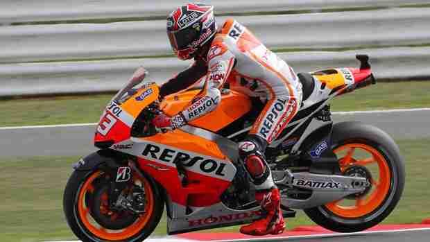 marc marquez MotoGP Silverstone qualifying report