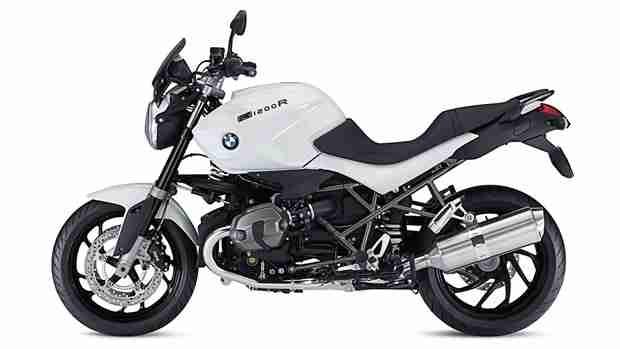 BMW R1200 R Dark White special edition