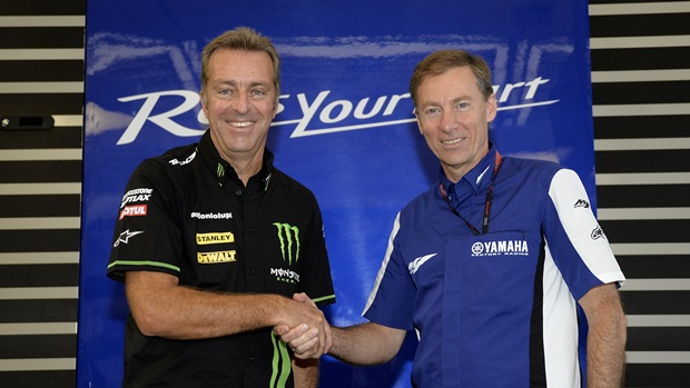 Lin Jarvis and Herve Poncharal Yamaha and Tech3 extend contract for 2014 and 2015