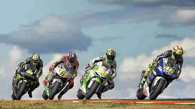 battle for third motogp aragon 2013