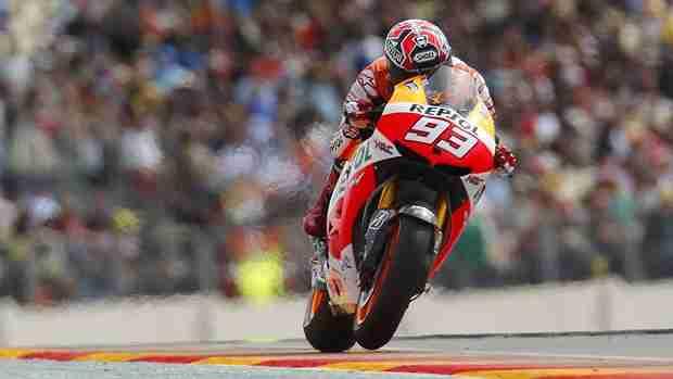 marc marquez MotoGP 2013 Aragon qualifying report