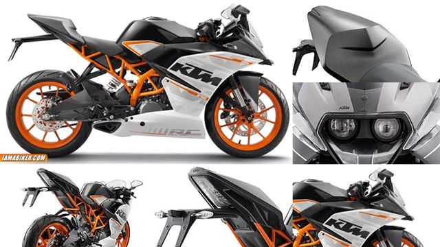 ktm rc390 india photographs KTM RC390 production version photographs