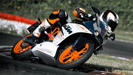 KTM RC390 RC200 Specifications And Photographs