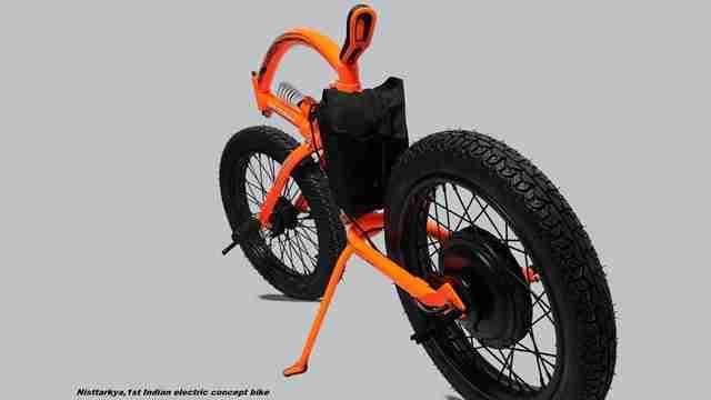 Nisttarkya - concept e-bike by Santhosh
