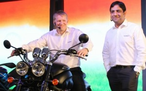 triumph india launch